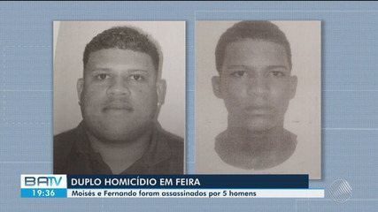 Dois homens são mortos em Feira de Santana nesta quarta-feira (22)