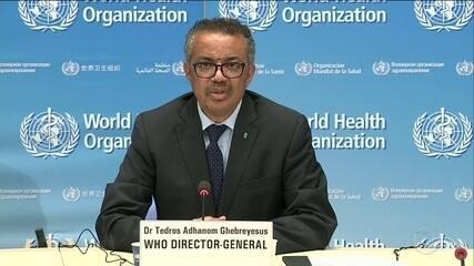 Diretor-geral da OMS diz que maioria dos países ainda está na fase inicial da pandemia