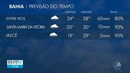 Confira a previsão do tempo para Salvador e interior do estado