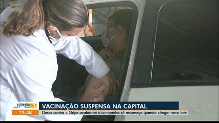 Campanha de vacinação é suspensa em João Pessoa