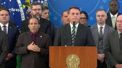 Bolsonaro fala sobre acusações de que dificultou ações de combate à corrupção