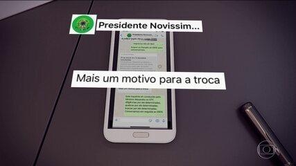 Moro mostra ao JN provas de acusações a Bolsonaro