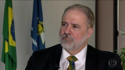 PGR pede ao STF abertura de inquérito para apurar declarações de Moro