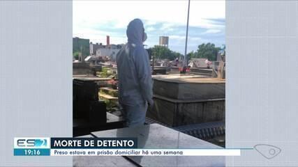 Detento morre por Covid-19 em hospital do ES uma semana depois de deixar o presídio