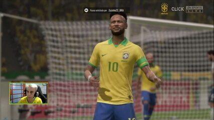 Os gols de Brasil 1 x 1 Argentina na Final da Copa do Mundo de Fifa