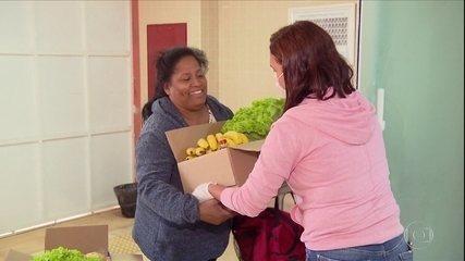 Compra de alimentos da merenda fora do período de aula garante renda de pequeno agricultor