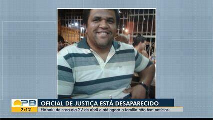 Oficial de Justiça da Paraíba está desaparecido