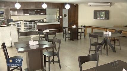 Academias, bares e restaurantes voltam a funcionar em Varginha, MG