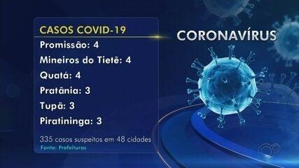 Barra Bonita registra primeira morte por Covid-19; confira números da região