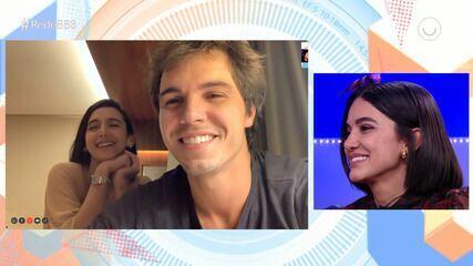 Manu recebe declaração do namorado, Igor Carvalho: 'Estou completamente apaixonado'