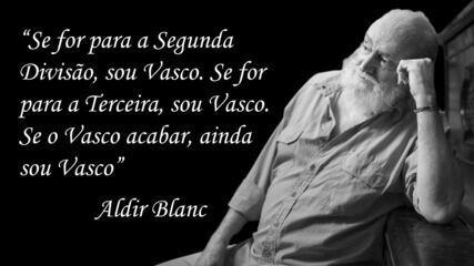 Homenagem póstuma a Aldir Blanc