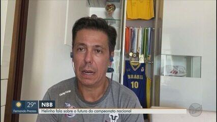 Técnico do Franca Basquete, Helinho fala sobre o futuro do campeonato nacional