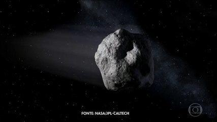 Asteroide gigante passa perto da Terra