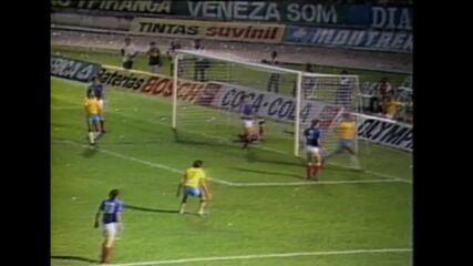 Melhores momentos de Brasil 4 x 2 Iugoslávia, em 1986, no Arruda