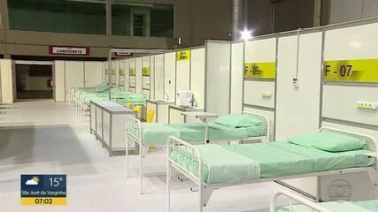 Hospital de Campanha montado no Expominas é concluído