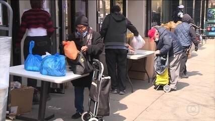 Desemprego nos EUA aumenta com efeitos da pandemia de Coronavírus