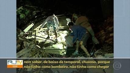 Depois de 10 anos do desabamento, moradores do Morro do Bumba ainda aguardam apartamentos