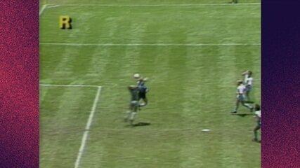 Melhores momentos: Argentina 2 x 1 Inglaterra pelas quartas da Copa do Mundo de 1986