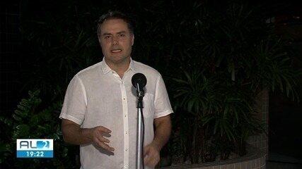 Governador de Alagoas anuncia que vai prorrogar decreto de emergência até dia 15 de maio