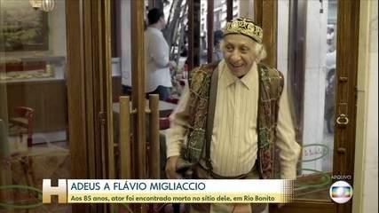 Ator Flávio Migliaccio morre em Rio Bonito