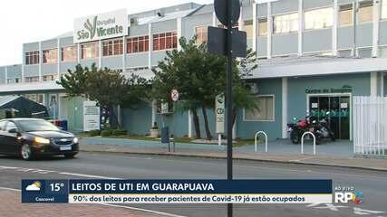 Alta taxa de ocupação de leitos em Guarapuava