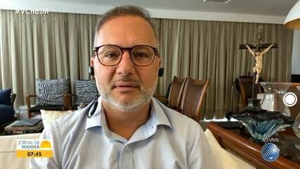 Secretário Fábio Vilas-Boas comenta ações de combate ao coronavírus em todo o estado
