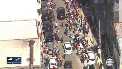 Globocop flagra aglomeração na região da 25 de Março no Centro