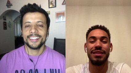 Matheus Cunha, jogador do Hertha Berlim, da Alemanha, comenta situação atual no país