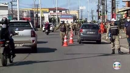 Coronavírus: São Luís (MA) registra redução de 60% no número de veículos em circulação