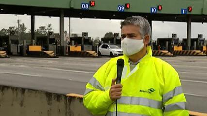Pedágios passam a aceitar pagamentos por aproximação em estradas do Alto Tietê