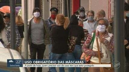 Governo de SP obriga população a usar máscaras nas ruas a partir desta quinta-feira