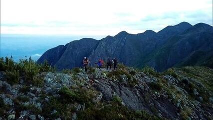 Globo Repórter refaz a travessia de montanha mais difícil do Brasil nesta sexta (8)