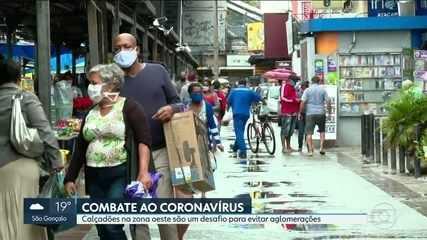 Prefeitura do Rio determina o fechamento de calçadão de Bangu por causa de aglomerações