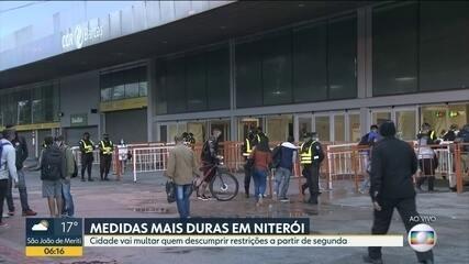 Niterói vai aplicar multa a quem estiver nas ruas
