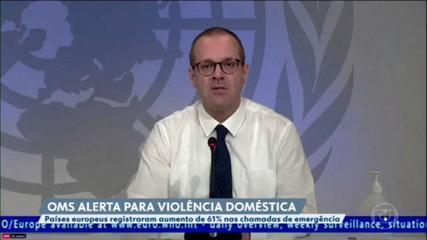 Aumenta o número de registro de violência doméstica durante a quarentena