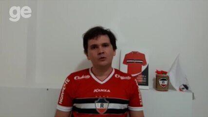 Torcedores reagem a possível contratação de Flávio Araújo no River-PI;veja