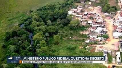 Ministério Público Federal questiona decreto do Ministério do Meio Ambiente