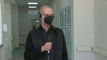 Prefeito Bruno Covas inaugura ala de hospital em Brasilândia