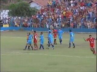 Título Tocantinense do Colinas em 2005 contra o Araguaína