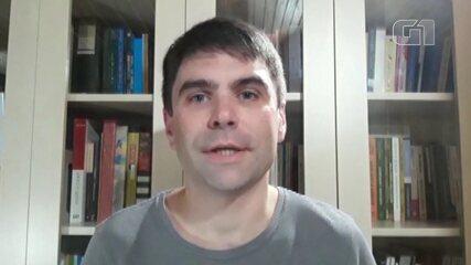 Professor de Arte no PR, Jean Carlos Franzoi Dernis diz que ensino remoto não foi planejado adequadamente