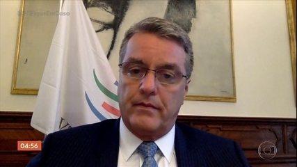 Diretor-geral da OMC anuncia que vai deixar o cargo em agosto