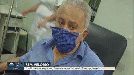 Família relata falta de exame em morte de idoso com suspeita de Covid-19 em Ribeirão Preto