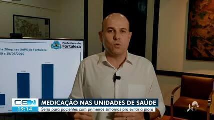 Prefeito Roberto Cláudio fala sobre medicação usada em pacientes com a Covid-19