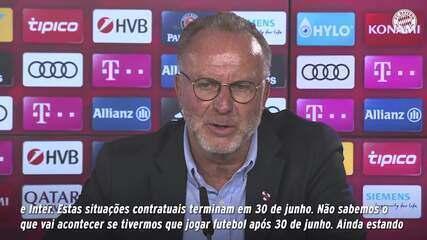 CEO do Bayern de Munique, Karl-Heinz Rummenigge explica a situação de Philippe Coutinho