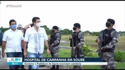 Governo do PA e prefeitura de Soure assinam convênio de hospital de campanha