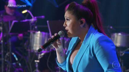 Maria Rita soltou a voz em 'Coração Em Desalinho'