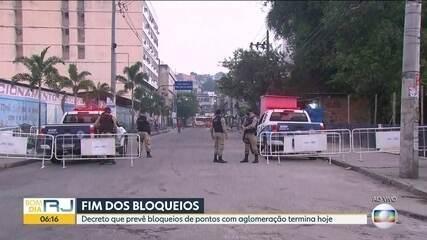Decreto que bloqueia ruas acaba hoje