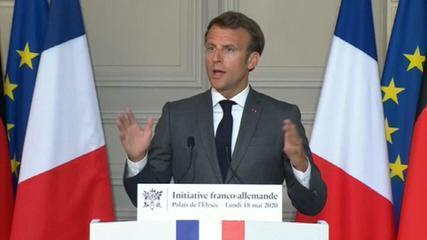 França e Alemanha propõem fundo de meio trilhão de euros para União Europeia