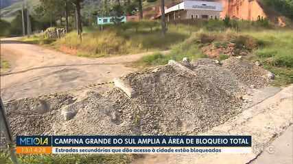 Prefeitura de Campina Grande do Sul amplia bloqueio total em alguns bairros