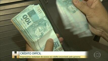 Governo sanciona com vetos lei que cria linha de crédito para micro e pequenas empresas